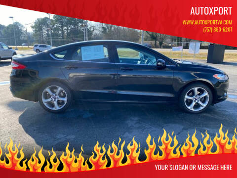 2014 Ford Fusion for sale at Autoxport in Newport News VA