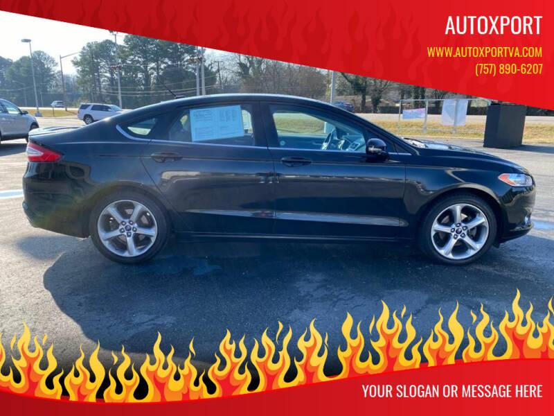 2014 Ford Fusion for sale at Autoxport in Newport News VA