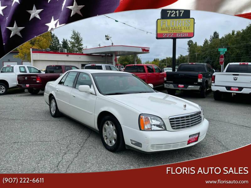 2002 Cadillac DeVille for sale at FLORIS AUTO SALES in Anchorage AK