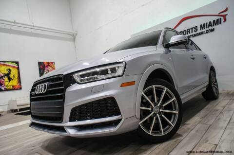 2018 Audi Q3 for sale at AUTO IMPORTS MIAMI in Fort Lauderdale FL