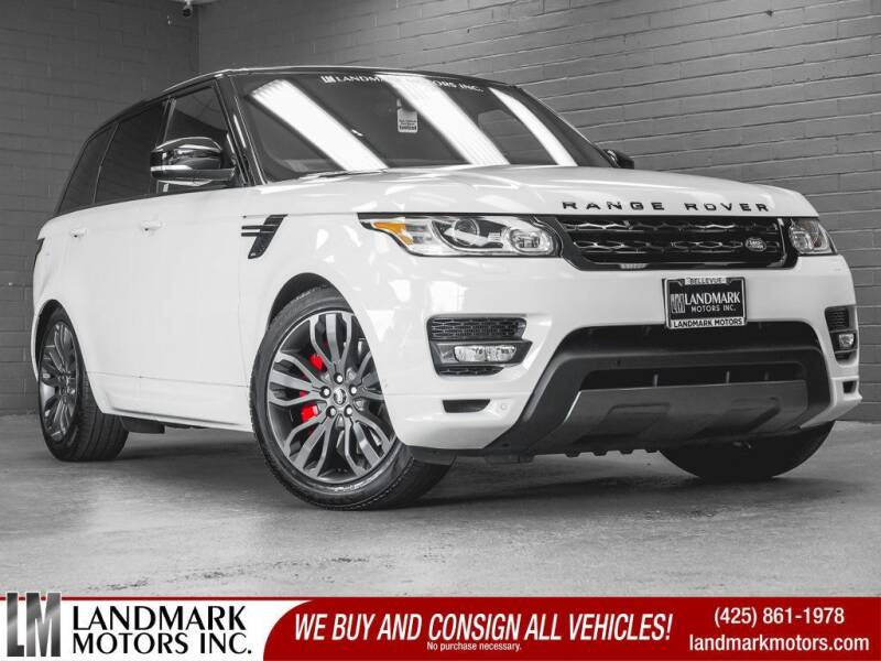 2017 Land Rover Range Rover Sport for sale in Bellevue, WA