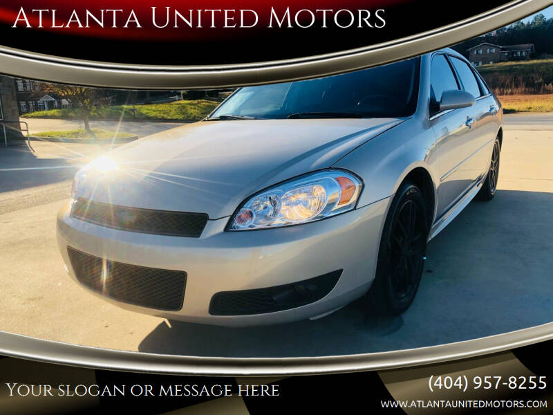 2012 Chevrolet Impala for sale at Atlanta United Motors in Jefferson GA