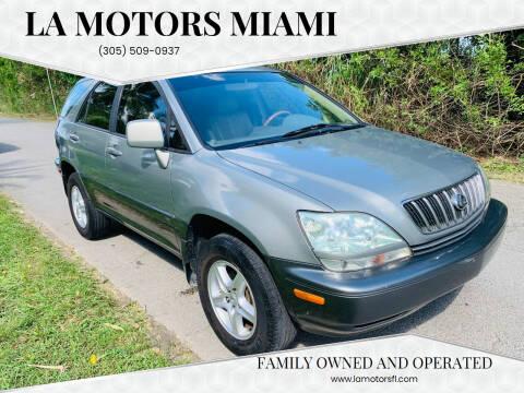 2001 Lexus RX 300 for sale at LA Motors Miami in Miami FL