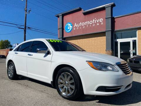 2013 Chrysler 200 for sale at Automotive Solutions in Louisville KY
