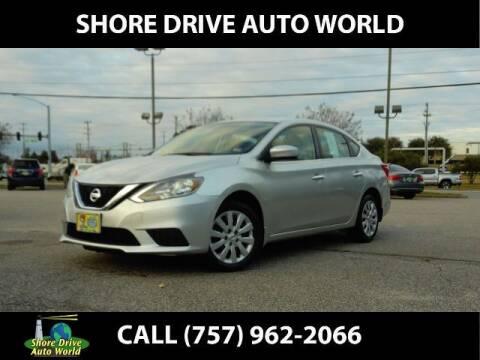 2017 Nissan Sentra for sale at Shore Drive Auto World in Virginia Beach VA