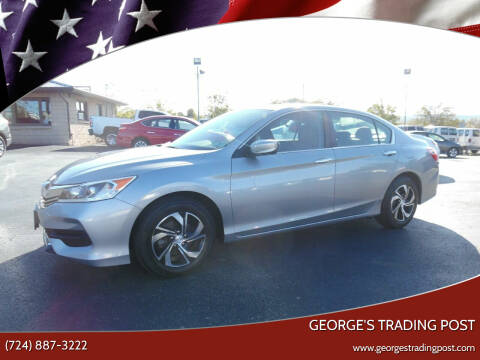 2017 Honda Accord for sale at GEORGE'S TRADING POST in Scottdale PA