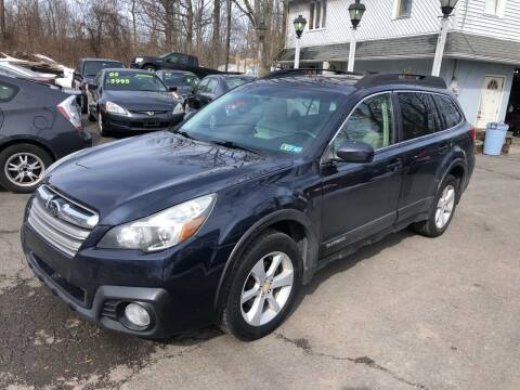 2014 Subaru Outback for sale at 22nd ST Motors in Quakertown PA