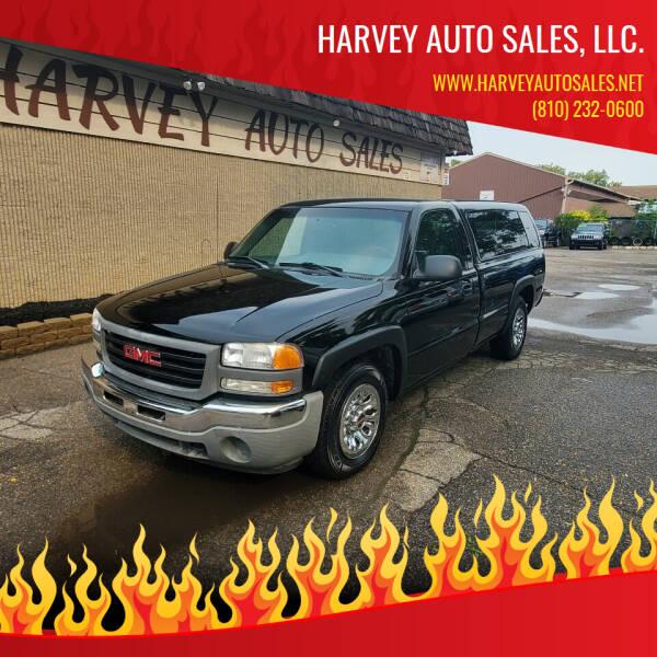 2006 GMC Sierra 1500 for sale at Harvey Auto Sales, LLC. in Flint MI