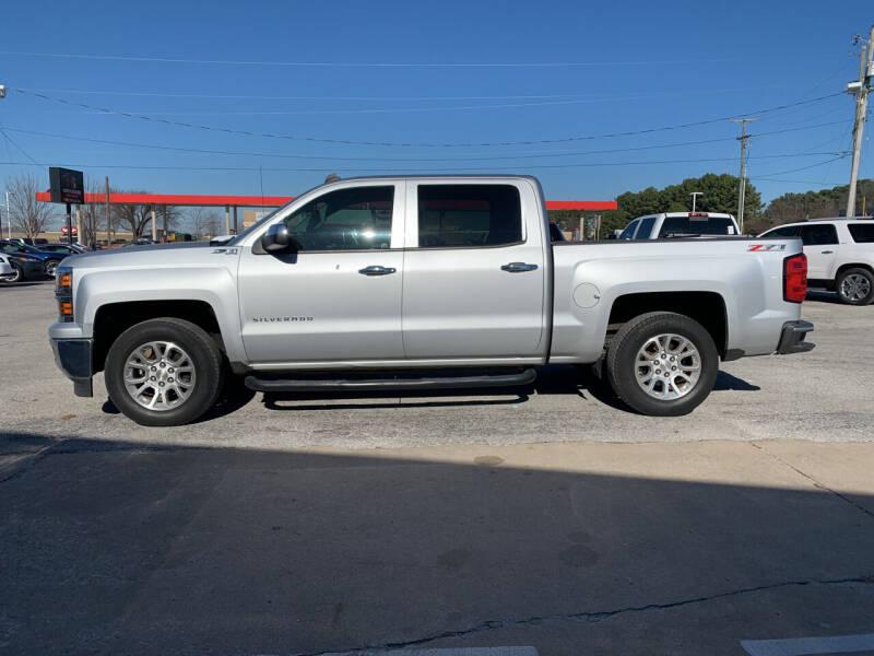 2014 Chevrolet Silverado 1500 for sale at Smooth Solutions 2 LLC in Springdale AR