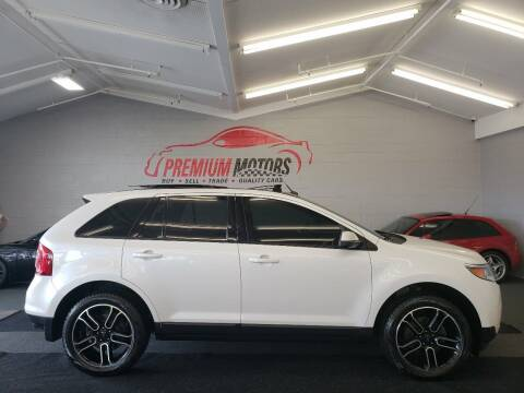 2013 Ford Edge for sale at Premium Motors in Villa Park IL
