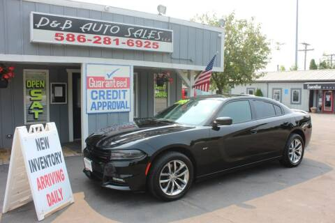 2018 Dodge Charger for sale at D & B Auto Sales LLC in Washington MI