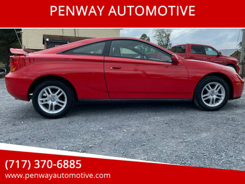 2000 Toyota Celica for sale at PENWAY AUTOMOTIVE in Chambersburg PA