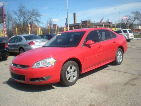 2011 Chevrolet Impala for sale at Automotive Center in Detroit MI