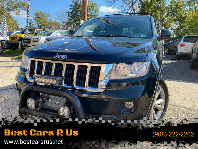 2013 Jeep Grand Cherokee for sale at Best Cars R Us in Plainfield NJ