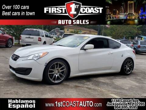 2012 Hyundai Genesis Coupe for sale at 1st Coast Auto -Cassat Avenue in Jacksonville FL