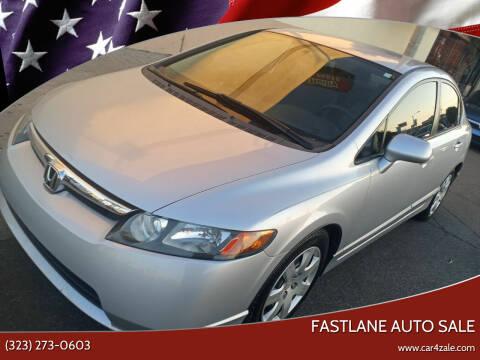 2007 Honda Civic for sale at Fastlane Auto Sale in Los Angeles CA