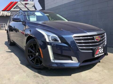 2018 Cadillac CTS for sale at Auto Republic Fullerton in Fullerton CA