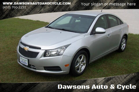 2013 Chevrolet Cruze for sale at Dawsons Auto & Cycle in Glen Burnie MD