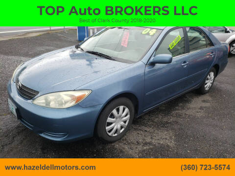 2004 Toyota Camry for sale at TOP Auto BROKERS LLC in Vancouver WA