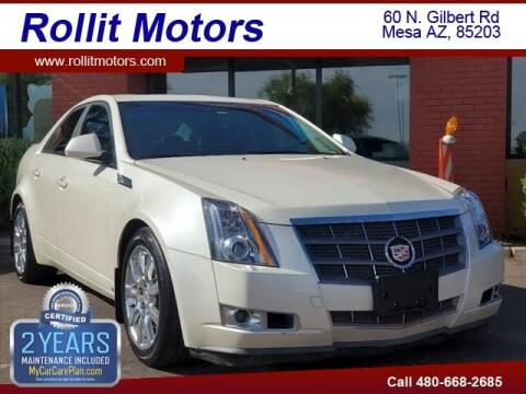 2009 Cadillac CTS for sale at Rollit Motors in Mesa AZ