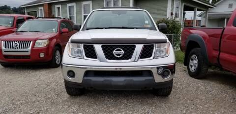 2005 Nissan Frontier for sale at Sissonville Used Cars in Charleston WV