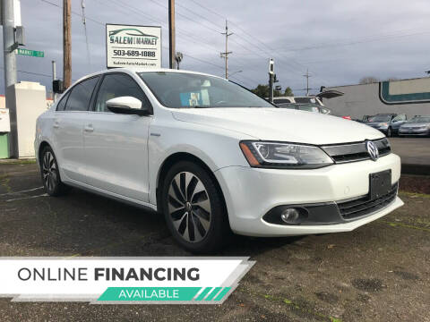 2013 Volkswagen Jetta for sale at Salem Auto Market in Salem OR