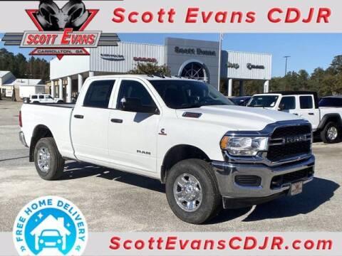2020 RAM Ram Pickup 2500 for sale at SCOTT EVANS CHRYSLER DODGE in Carrollton GA