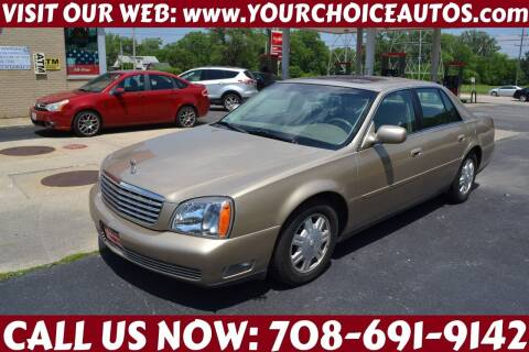 2005 Cadillac DeVille for sale at Your Choice Autos - Crestwood in Crestwood IL