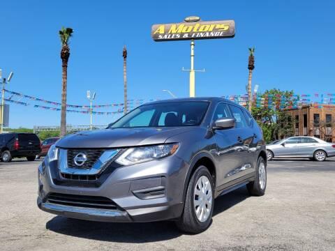 2017 Nissan Rogue for sale at A MOTORS SALES AND FINANCE - 10110 West Loop 1604 N in San Antonio TX