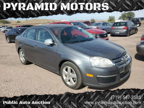 2009 Volkswagen Jetta for sale at PYRAMID MOTORS - Pueblo Lot in Pueblo CO
