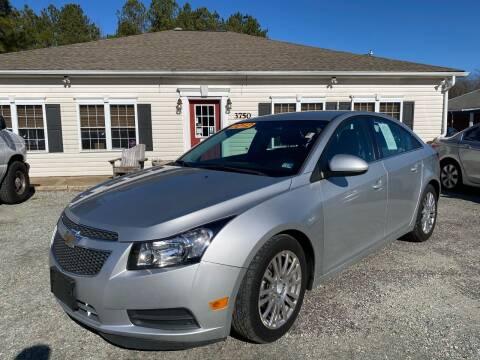 2012 Chevrolet Cruze for sale at Premier Auto Solutions & Sales in Quinton VA