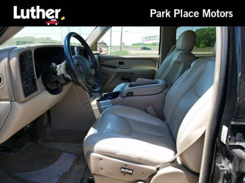 2003 Chevrolet Tahoe for sale at Park Place Motor Cars in Rochester MN