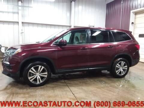 2016 Honda Pilot for sale at East Coast Auto Source Inc. in Bedford VA