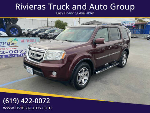 2011 Honda Pilot for sale at Rivieras Truck and Auto Group in Chula Vista CA
