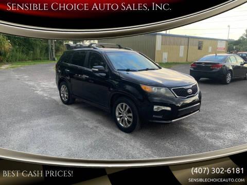2011 Kia Sorento for sale at Sensible Choice Auto Sales, Inc. in Longwood FL