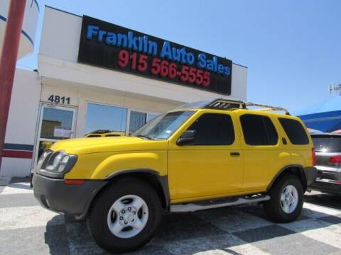 2002 Nissan Xterra for sale at Franklin Auto Sales in El Paso TX