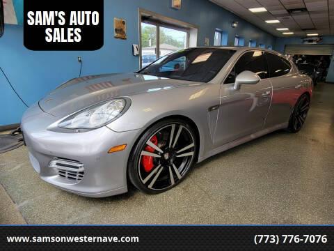 2010 Porsche Panamera for sale at SAM'S AUTO SALES in Chicago IL