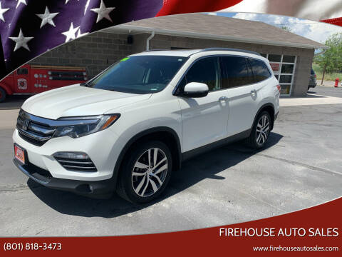 2018 Honda Pilot for sale at Firehouse Auto Sales in Springville UT