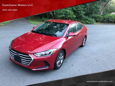 2018 Hyundai Elantra for sale at Eastclusive Motors LLC in Hasbrouck Heights NJ