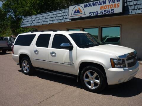 2011 Chevrolet Suburban for sale at Mountain View Motors Inc in Colorado Springs CO