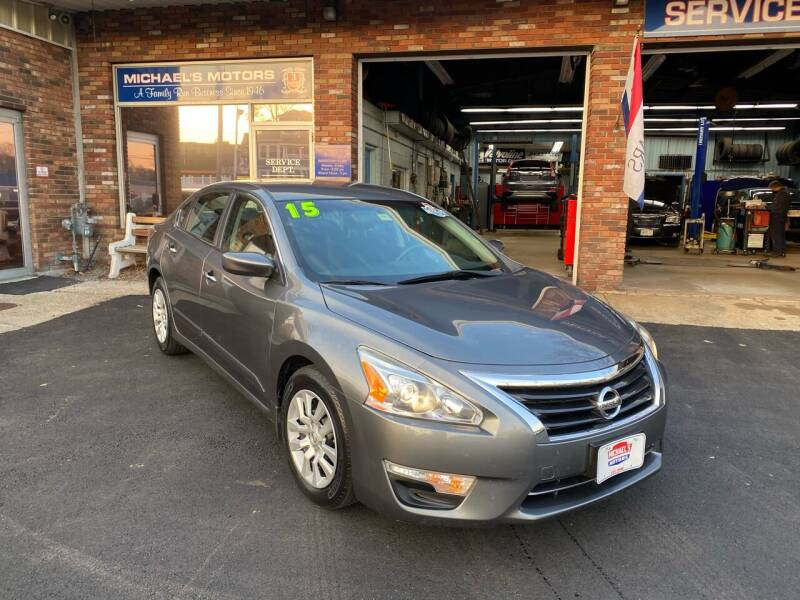 2015 Nissan Altima for sale at Michaels Motor Sales INC in Lawrence MA