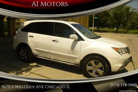 2007 Acura MDX for sale at A1 Motors Inc in Chicago IL