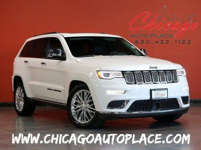 2018 Jeep Grand Cherokee for sale at Chicago Auto Place in Bensenville IL