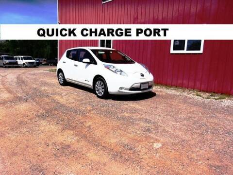 2017 Nissan LEAF for sale at Windy Hill Auto and Truck Sales in Millersburg OH