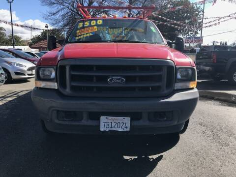 2003 Ford F-350 Super Duty for sale at EXPRESS CREDIT MOTORS in San Jose CA