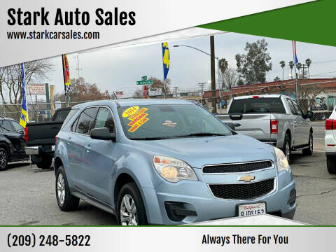 2014 Chevrolet Equinox for sale at Stark Auto Sales in Modesto CA