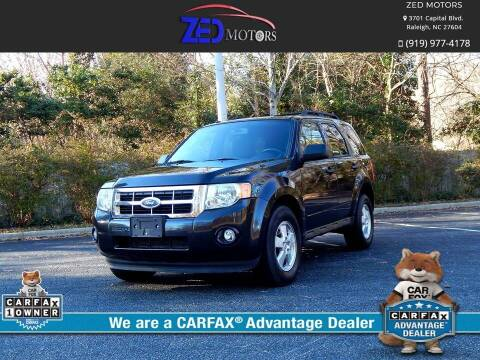 2011 Ford Escape for sale at Zed Motors in Raleigh NC