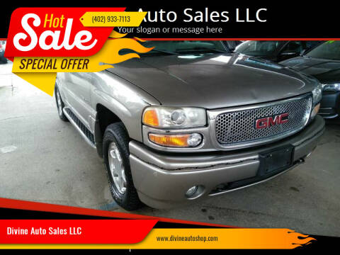 2003 GMC Yukon for sale at Divine Auto Sales LLC in Omaha NE