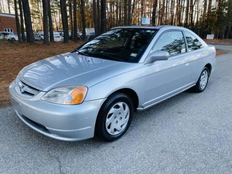 2003 Honda Civic for sale at H&C Auto in Oilville VA