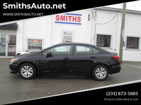 2012 Honda Civic for sale at SmithsAuto.net in Hart MI